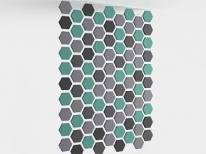 Panouri fonoabsorbante Web Hexa